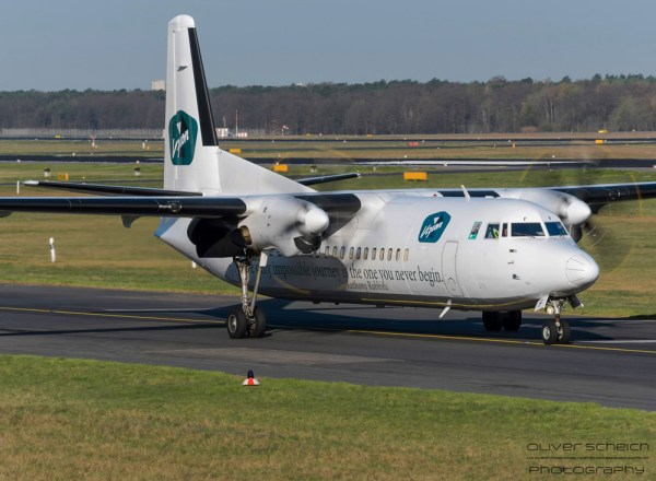 Vizion Air - operated by VLM - Fokker 50 OO-VLF