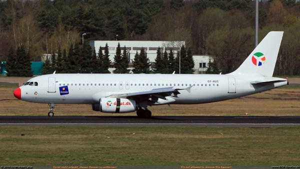 DAT Danish Air Transport Airbus A320-200 OY-RUS