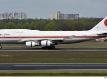 Japan Gvmt. Boeing 747-400 20-1101