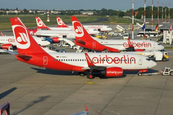 Air Berlin am Flughafen Berlin-Tegel (© O. Pritzkow)