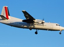 VLM Fokker 50 OO-VLL