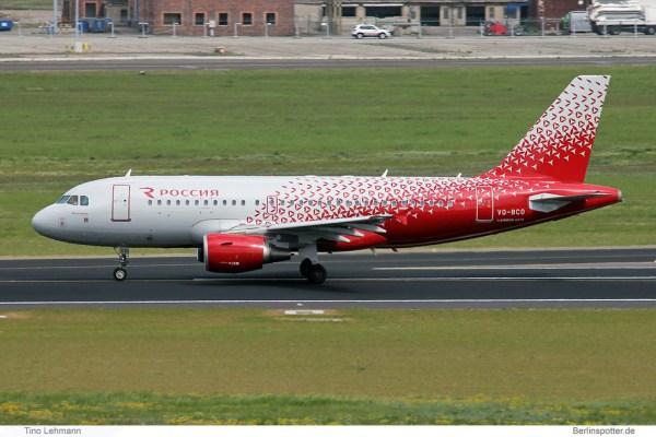 Rossiya Airbus A320-200 VQ-BCO