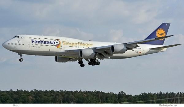 Lufthansa Boeing 747-8 D-ABYI
