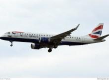 BA CityFlyer Embraer 195SR G-LCYN