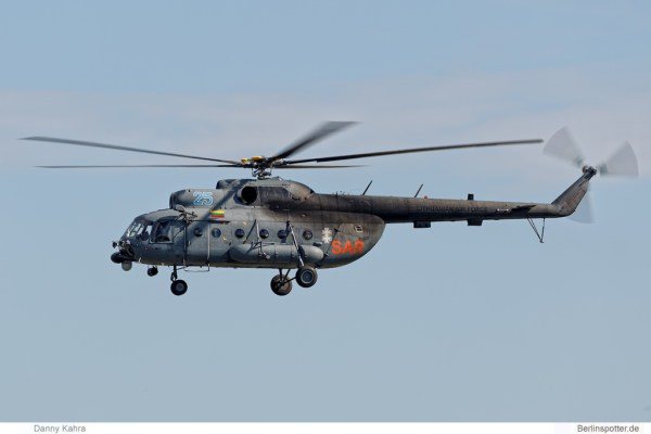 Lithuanian Air Force Mil Mi-8 '25' SAR