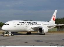Japan Airlines Boeing 787-8 Dreamliner JA838J (Berlin TXL 21.7. 2016)