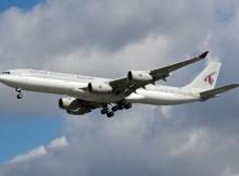 Qatar Amiri Flight Airbus A340-500 A7-HHH (Berlin TXL 22.8. 2016)