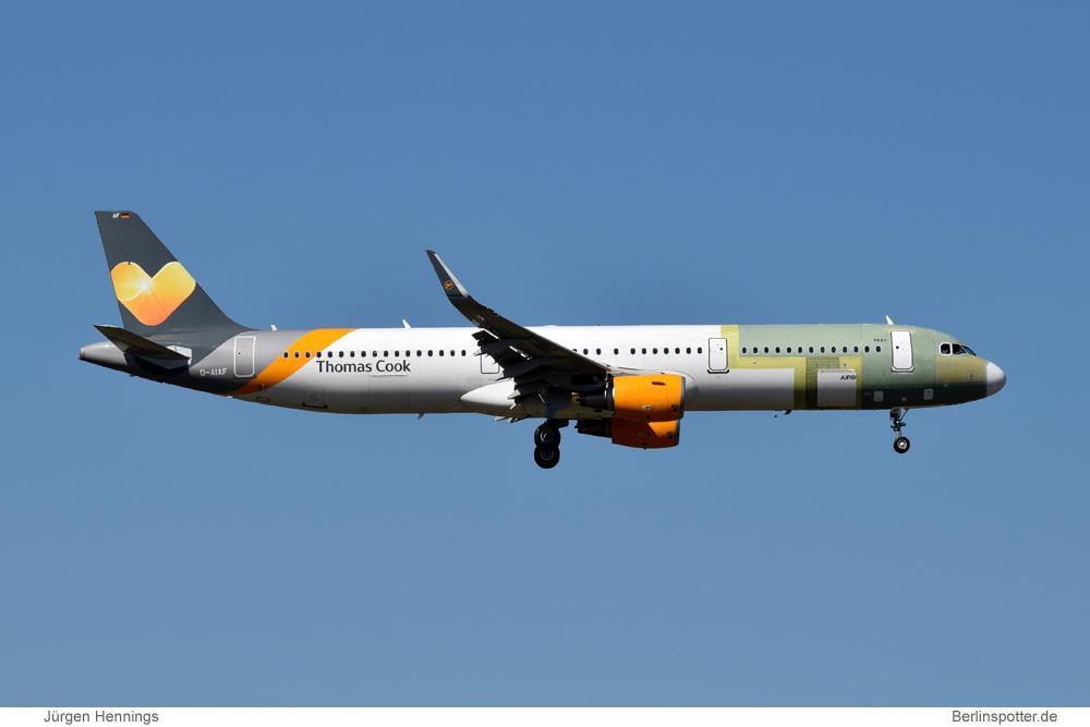 Condor Airbus A321-200SL D-AIAF