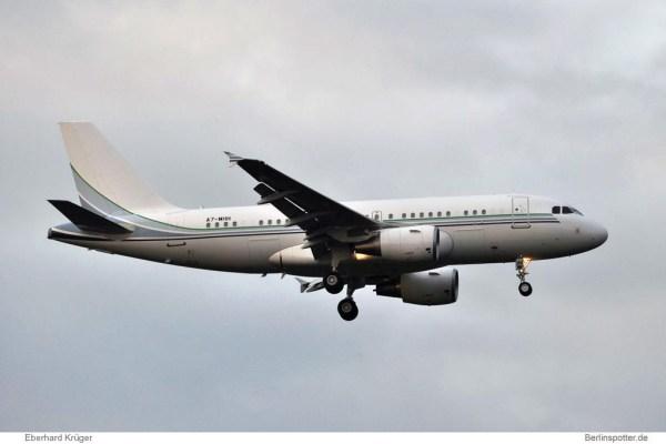 Qatar Amiri Flight Airbus A319CJ A7-MHH (TXL 20.10. 2016)