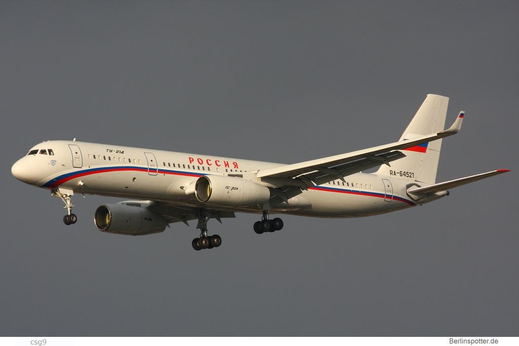 Rossiya Tupolev Tu-214 RA-64521