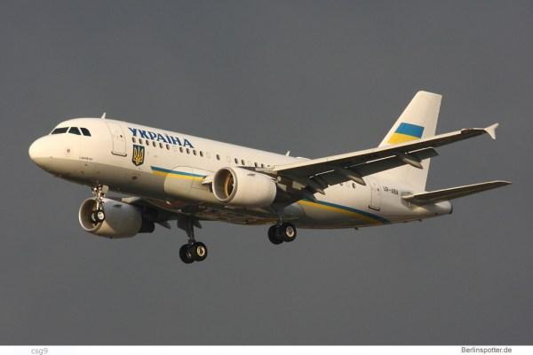 Ukraina, Airbus A319CJ UR-ABA (TXL 19.10. 2016)