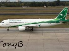 Iraqi Airways Airbus A320-200 YI-ARA (TXL 8.10. 2016)