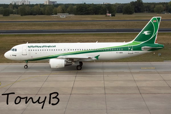 Iraqi Airways Airbus A320-200 YI-ARA (TXL 8.10. 2016)