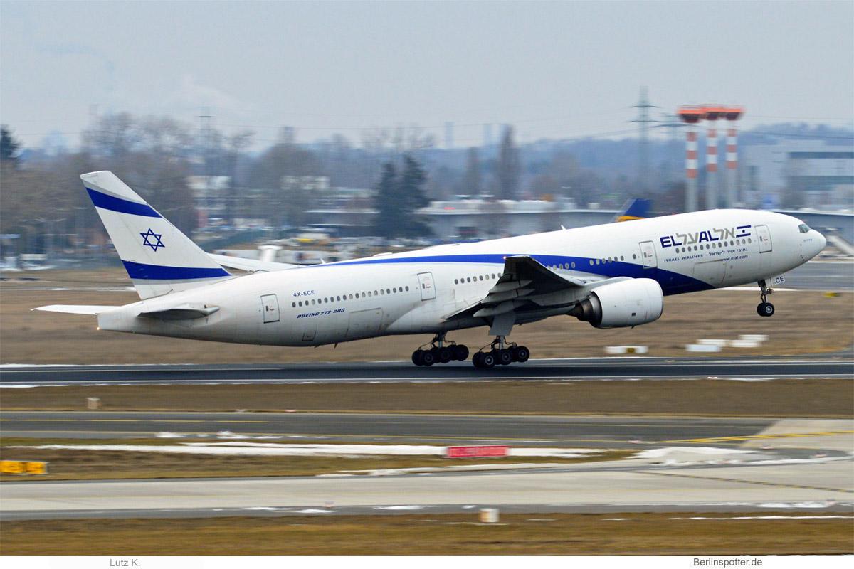El Al Boeing 777-200ER 4X-ECE