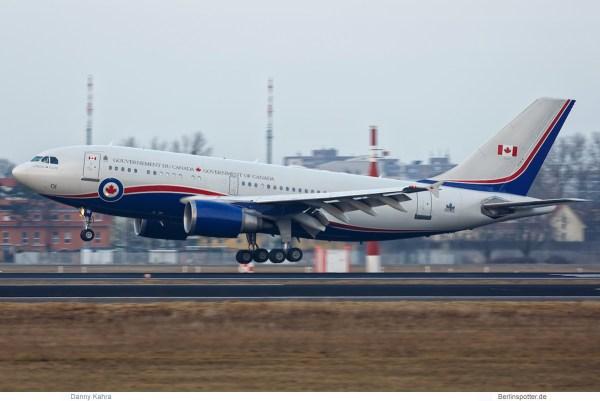 Kanada, CC-150 Polaris (Airbus A310-300) '15001' (TXL 16.2. 2017)