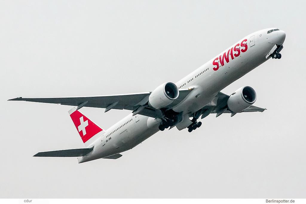 Swiss Boeing 777-300ER HB-JNB