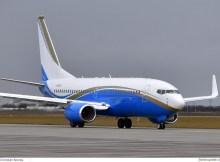 DP World Boeing 737-700(BBJ) N788DP (SXF 22.2. 2017)