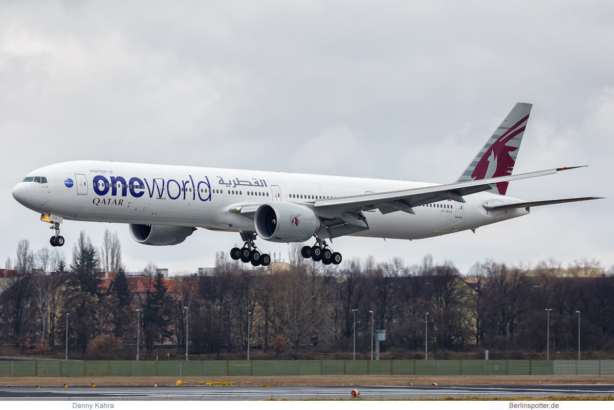 Qatar Airways Boeing 777-300ER A7-BAA