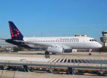 Brussels Airlines, Sukhoi SSJ-100 EI-FWD, opb Cityjet (TXL 28.3. 2017)