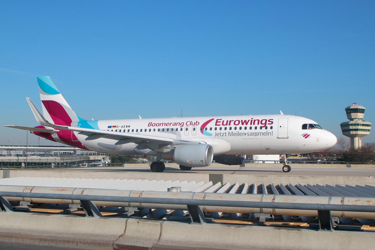 Eurowings geht easyJet aus dem Weg