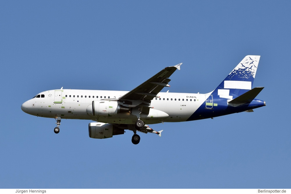 Germania Airbus A319-100 D-ASTL