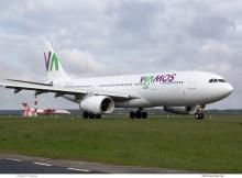 Wamos Air, Airbus A330-200 EC-MJS (TXL 17.4. 2017)