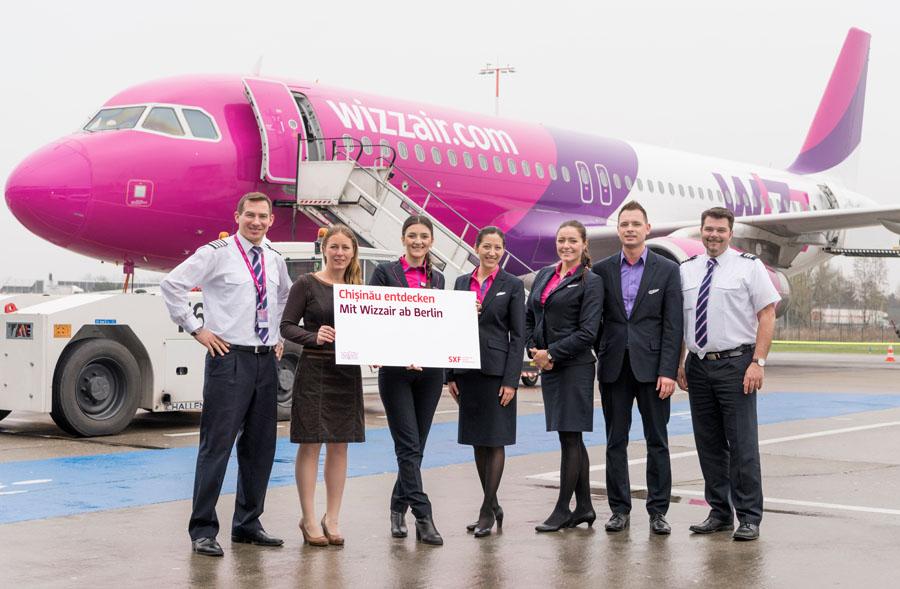 Wizz Air nimmt Chisinau - Berlin auf