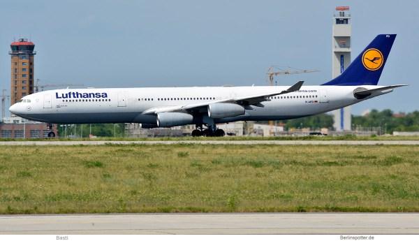 Lufthansa, Airbus A340-300 D-AIFD (SXF 28.5. 2017)