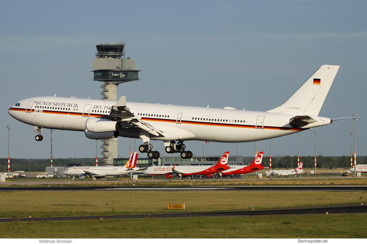Luftwaffe Airbus A340-300 16+01