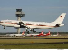 Luftwaffe, Airbus A340-300 16+01 (SXF 27.6. 2017)