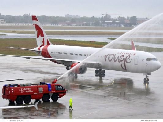Air Canada rouge, Boeing 767-300ER C-FIYE (TXL 4.6. 2017)