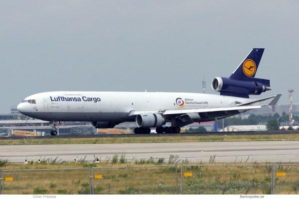 Lufthansa Cargo, McDonnell-Douglas MD-11F D-ALCC (SXF 24.6. 2017)
