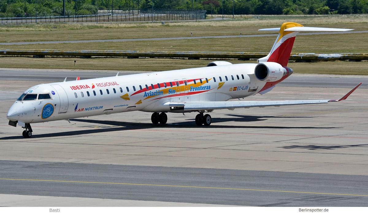 Air Nostrum Bombardier CRJ1000 EC-LJS