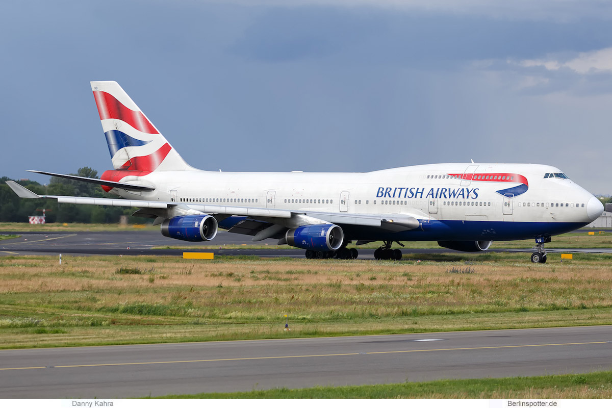 British Airways Boeing 747-400 G-CIVB