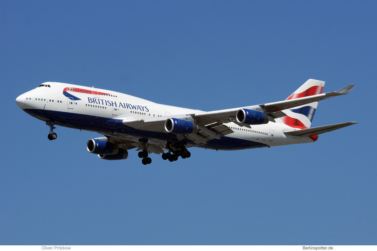 British Airways Boeing 747-400 G-CIVJ