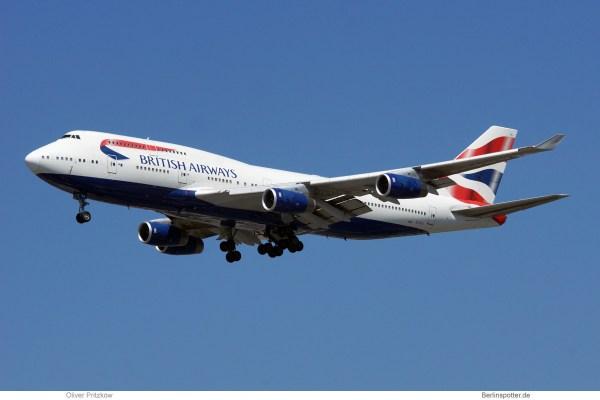 British Airways, Boeing 747-400 G-CIVJ (TXL 18.6. 2017)