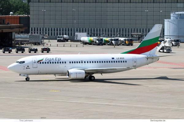 Bul Air, Boeing 737-300 LZ-BOO (TXL 11.6. 2017)