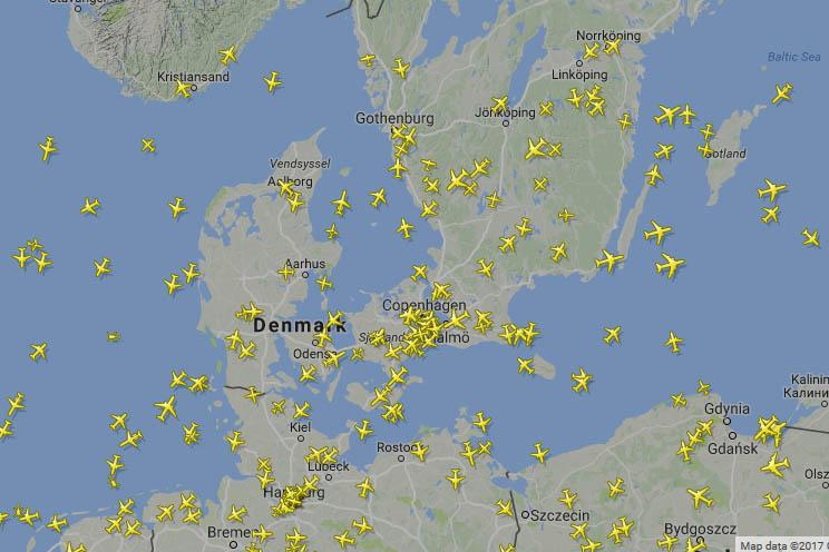 Flugverfolgung - live und in Echtzeit