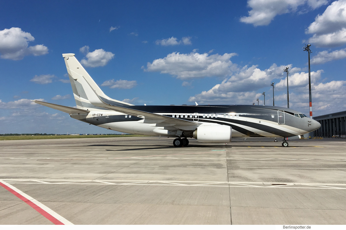 Wuleen Investment Corp Boeing 737-700(BBJ) VP-CZW