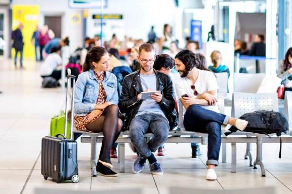 Kostenloses Wifi an den Airports Schönefeld und Tegel (© FBB)