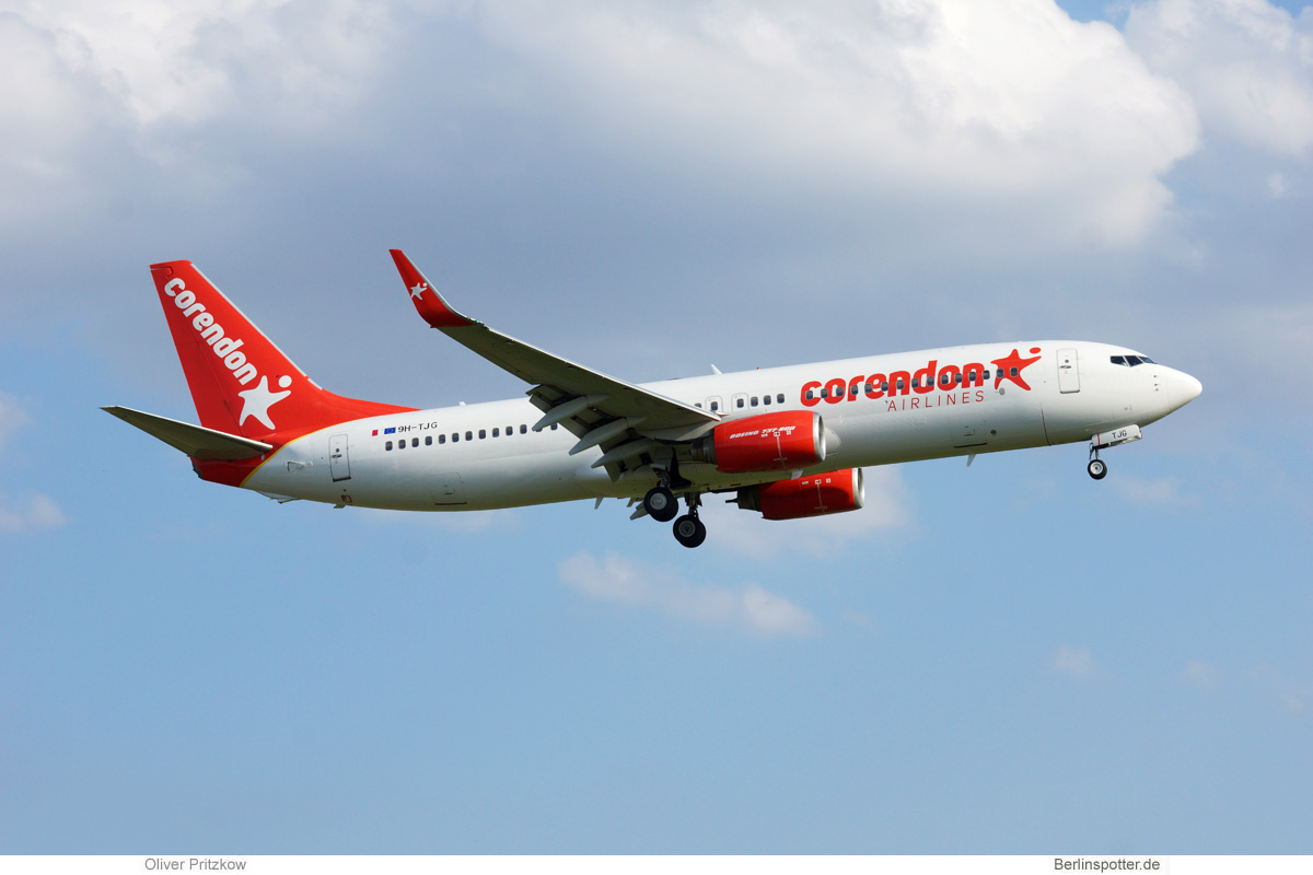 Corendon Airlines Europe Boeing 737-800(WL) 9H-TJG