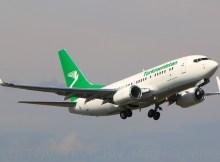 Turkmenistan Airlines, Boeing 737-700(WL) EZ-A007 (TXL 17.8. 2017)