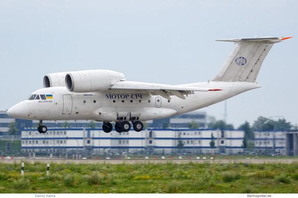 Motor-Sich, Antonow 74-200 UR-74026 (SXF/BER 3.8. 2017)