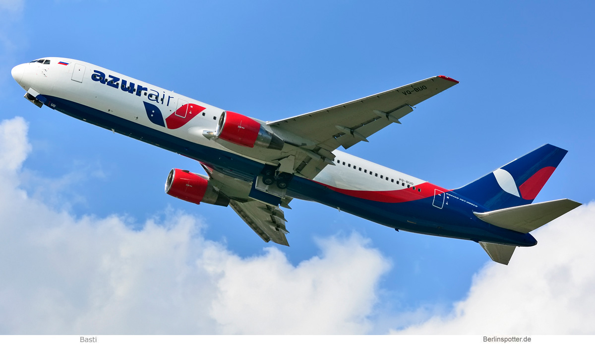 Azur Air Russia Boeing 767-300ER VQ-BUO
