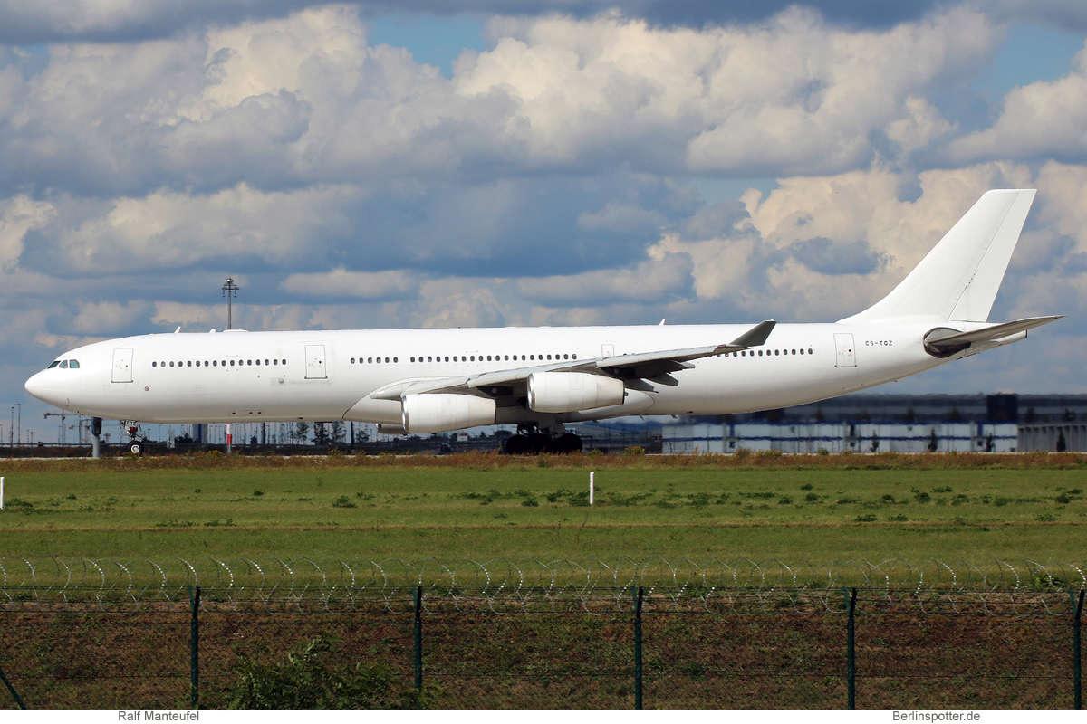 Hi Fly Airbus A340-300 CS-TQZ