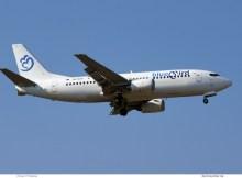 Bluebird Airways, Boeing 737-300 9H-NOA (SXF 8.4. 2018)