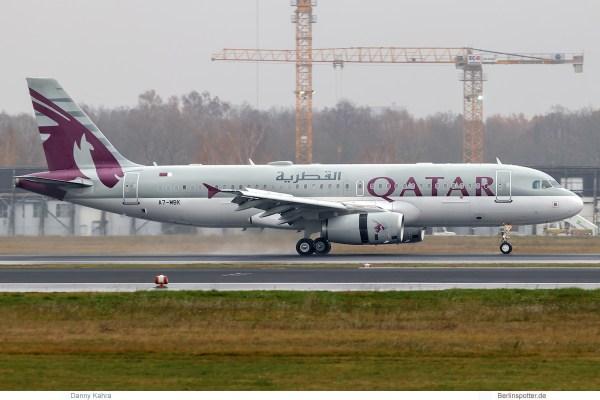 Qatar Amiri Flight Airbus A320 Prestige A7-MBK (TXL 21.11. 2017)