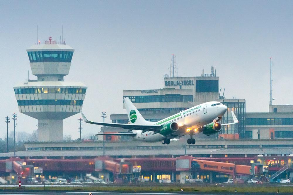 Germania stellt neuen Winterflugplan vor
