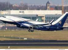 Boeing Business Jets Boeing 737-700(BBJ) N839BA (SXF 29.11.2017)