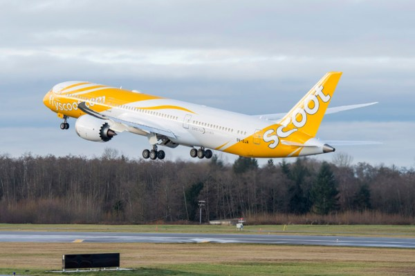 Scoot Boeing 787 (© Boeing)